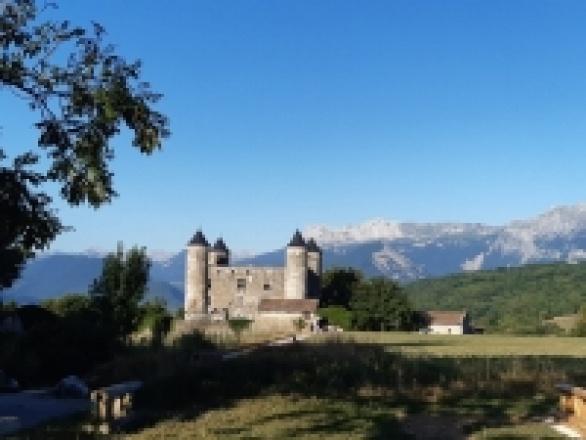 Tournage au Château de Bon Repos
